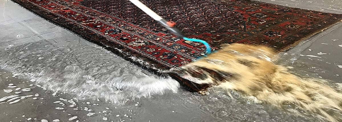 Teppichreinigung Berlin - umweltschonend und von Hand
